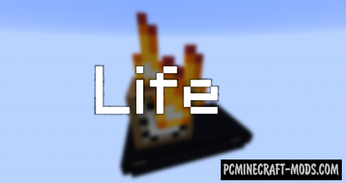 Life - Puzzle, Adventure Map For Minecraft