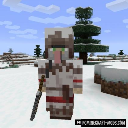 Wandering Trapper - New Mobs Mod For MC 1.16.4, 1.14.4
