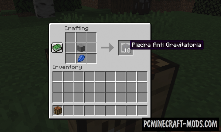 GravityWorld - Tweak Mod For Minecraft 1.14.4, 1.12.2