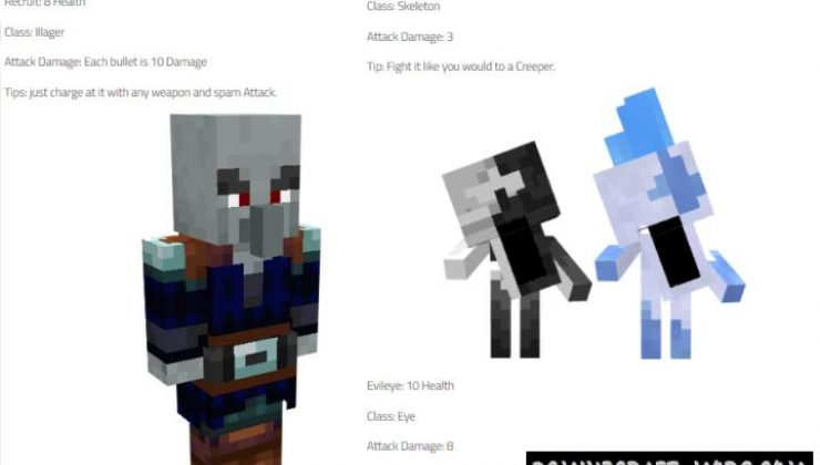 Bigger Problems Addon For Minecraft Bedrock 1.17, 1.16