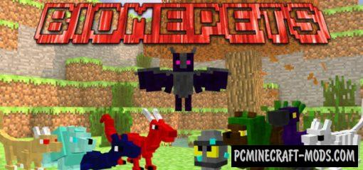 BiomePets - Creatures Addon For Minecraft Bedrock 1.14