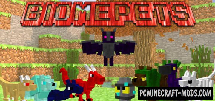 BiomePets - Creatures Addon For Minecraft Bedrock 1.16