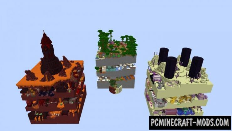 Dimension Parkour Map For Minecraft