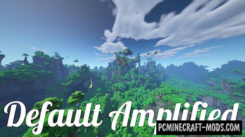 Default Amplified - Biomes Mod For Minecraft 1.15.2, 1.14.4