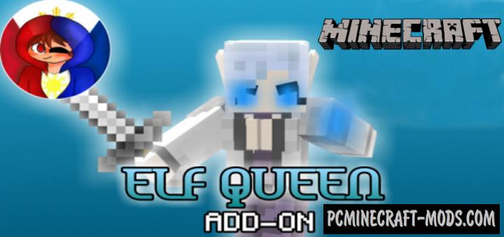 Elf Queen (Boss) Addon For Minecraft Bedrock 1.16, 1.14