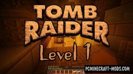 Tomb Raider The New Adventure - Level 1 Map MC