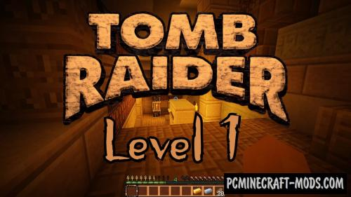 Tomb Raider The New Adventure - Level 1 Map MC