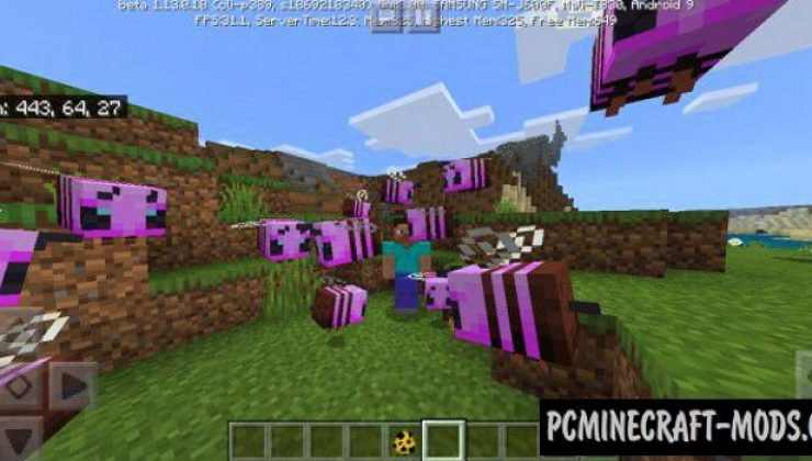 Loginicum: All Mods and Animations MCPE Addon 1.16