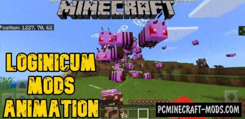 Loginicum: All Mods and Animations MCPE Addon 1.14