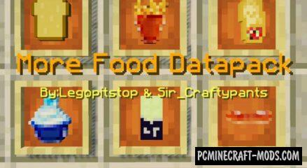 Lots More Food Addon For Minecraft 1.14, 1.13 iOS/Android