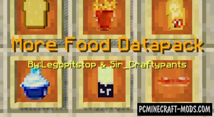 Lots More Food Addon For Minecraft 1.16, 1.14 iOS/Android