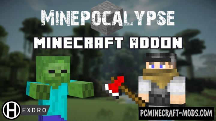 Minepocalypse Addon For Minecraft Bedrock 1.16, 1.14