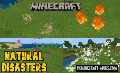 Natural Disasters Addon For Minecraft 1.14, 1.13