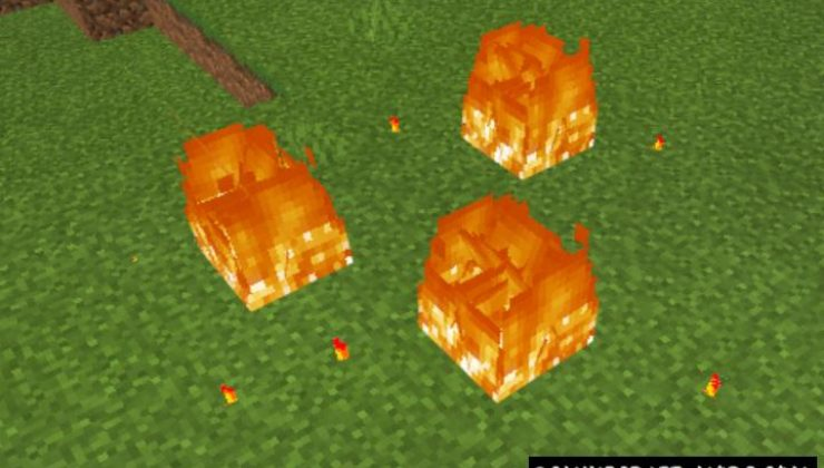 Natural Disasters Addon For Minecraft 1.16, 1.14