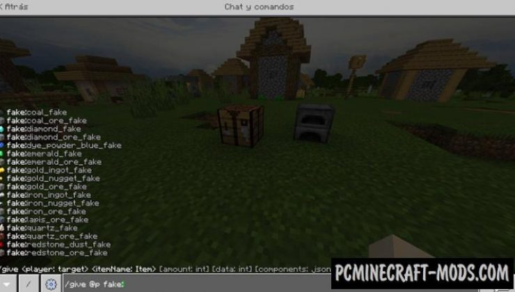 Ores Fake Mod/Addon For Minecraft PE 1.17, 1.16