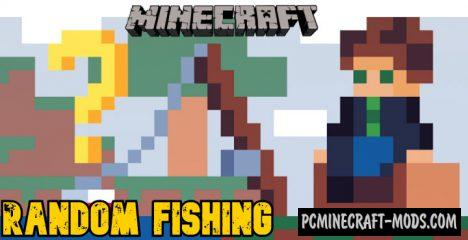 Random Fishing Addon For Minecraft PE 1.14 iOS/Android