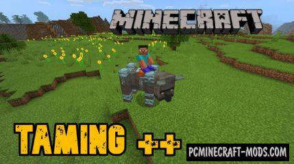 Taming++ Addon For Minecraft PE 1.14 iOS/Android