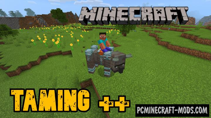 Taming++ Addon For Minecraft PE 1.16 iOS/Android