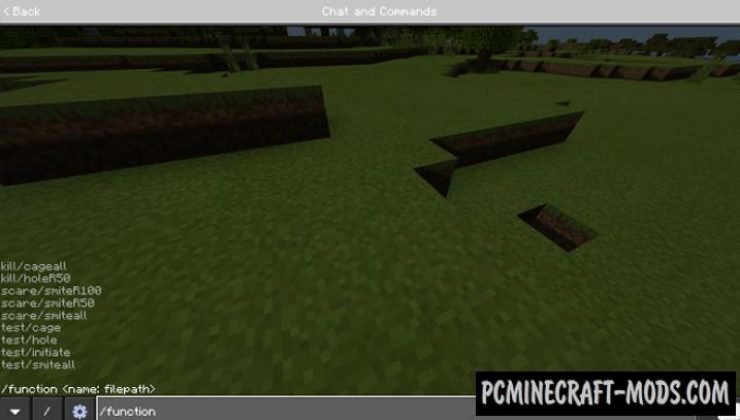 Troll Commands - Function Pack Addon For Minecraft 1.16