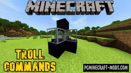 Troll Commands - Function Pack Addon For Minecraft 1.14.20