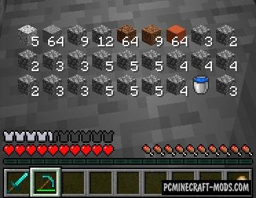 Inventory HUD+ Mod For Minecraft 1.16.3, 1.15.2
