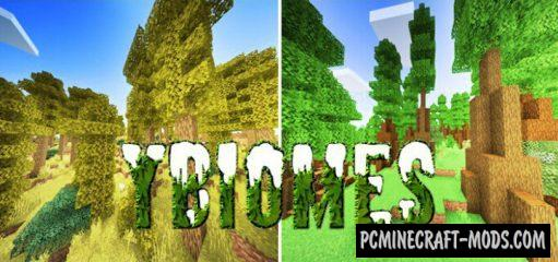 yBiomesCraft Addon For Minecraft PE 1.14 iOS/Android