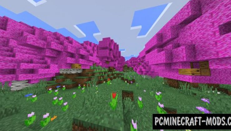 yBiomesCraft Addon For Minecraft PE 1.16 iOS/Android