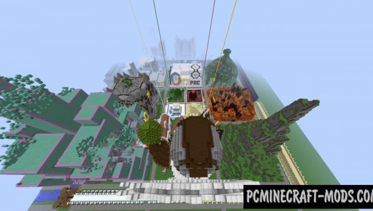 PSC - Parkour Map For Minecraft