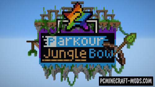 Parkour Jungle Bow 2 Map For Minecraft