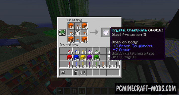 Dust - New Blocks, Ores Mod For Minecraft 1.12.2