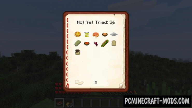Spice of Life: Carrot Edition - Food Boost Mod 1.16.4, 1.15.2