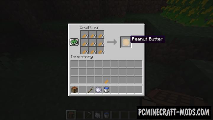 Peanuts! - Food Mod For Minecraft 1.16.5, 1.15.2, 1.14.4