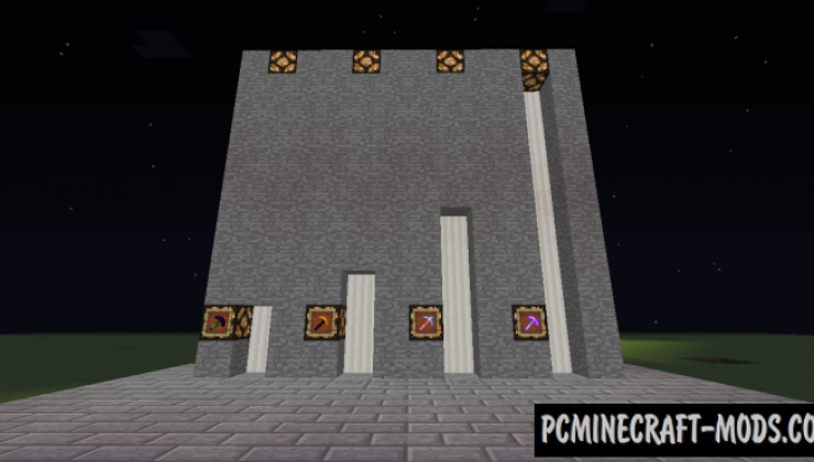 Upgraded Pickaxes - Tools Mod For Minecraft 1.12.2