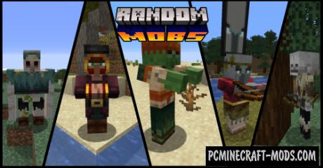 Random mobs Resource Pack For Minecraft 1.15.2