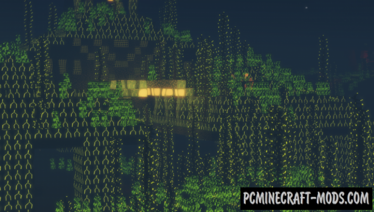 Fluorescence Resource Pack For Minecraft 1.15.2, 1.14.4