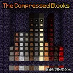 The Compressed Blocks - Tweak Mod For MC 1.16.5, 1.15.2