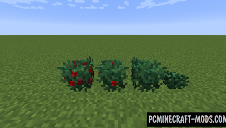 Crops 3D Resource Pack For Minecraft 1.15.2, 1.14.4