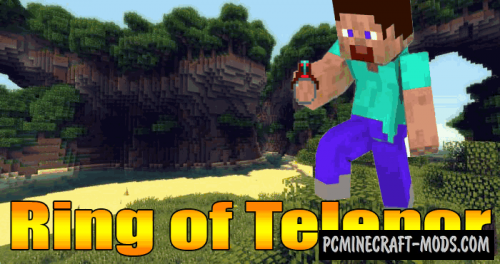 Ring of Teleport - Magic Tool Mod For MC 1.16.3, 1.15.2, 1.14.4