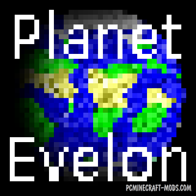 Planet Evelon - Decor, Weapons Mod Minecraft 1.16.1, 1.15.2