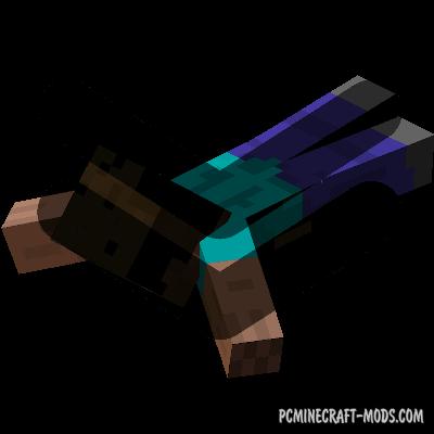Go Down! - Parkour Tweak Mod For Minecraft 1.16.5, 1.15.2
