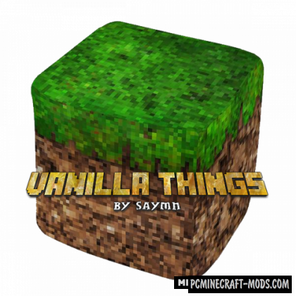 Vanilla Things - Decorative Mod For Minecraft 1.16.2, 1.15.2