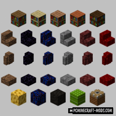 Aurum's - More Decor Blocks Mod For Minecraft 1.16.5