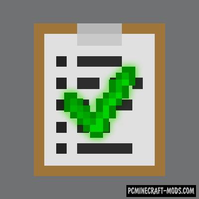 Clipboards - Decor, Info Mod For Minecraft 1.16.5, 1.16.4