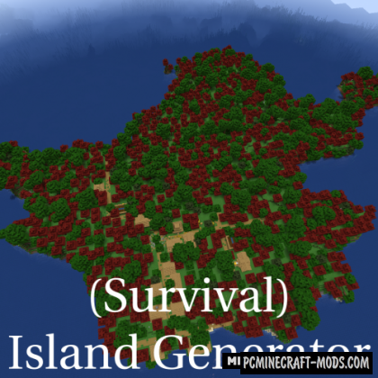 Survival Island - Generator Mod For Minecraft 1.15.2
