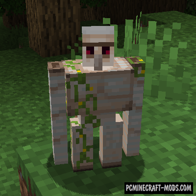 GolemZ - New Mob Mod For Minecraft 1.16.5, 1.16.4, 1.15.2