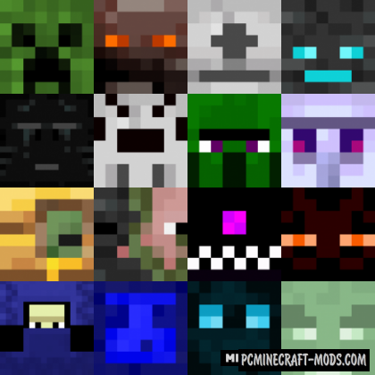 Various Mobs Resource Pack For Minecraft 1.15.2, 1.14.4
