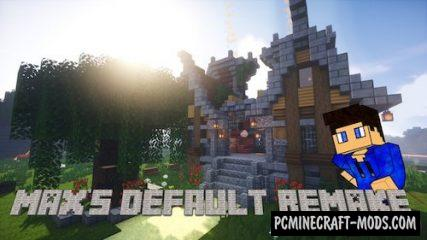 Max's Default Remake 32x Resource Pack For MC 1.16, 1.15.2