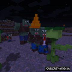 MrVorgan's Plants Vs Zombies Mod For Minecraft 1.12.2
