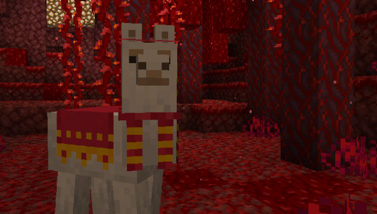 Llama Steeds - Tweak Mod For Minecraft 1.15.2, 1.15.1, 1.15