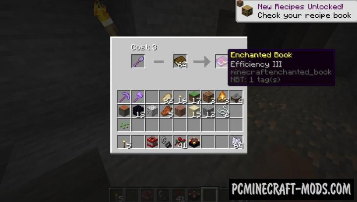 Disenchanting Forge - Tweak Mod For Minecraft 1.16.5, 1.15.2, 1.14.4